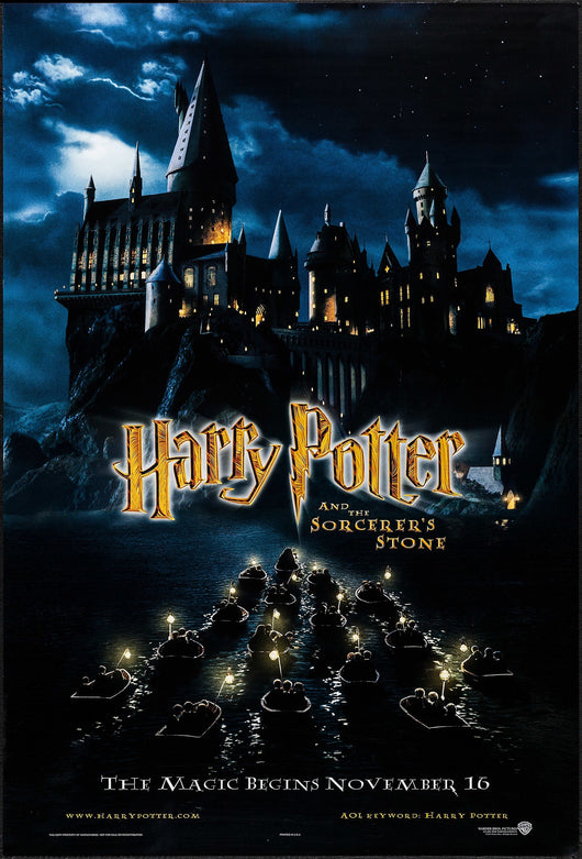 Harry Potter and the Sorcerer's Stone Original Movie Poster
