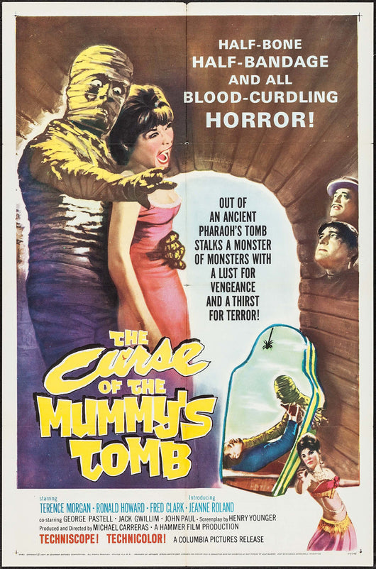 Curse of the Mummy's Tomb Original Movie Poster
