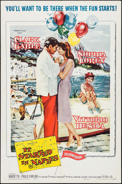 It Started in Naples Original Movie Poster