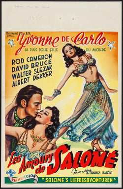 Salome, Where She Danced Original Movie Poster
