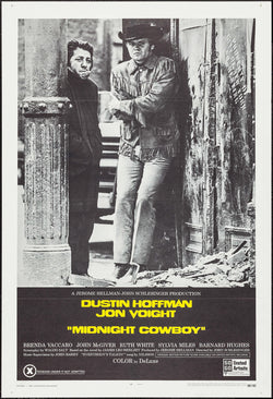 Midnight Cowboy Original Movie Poster