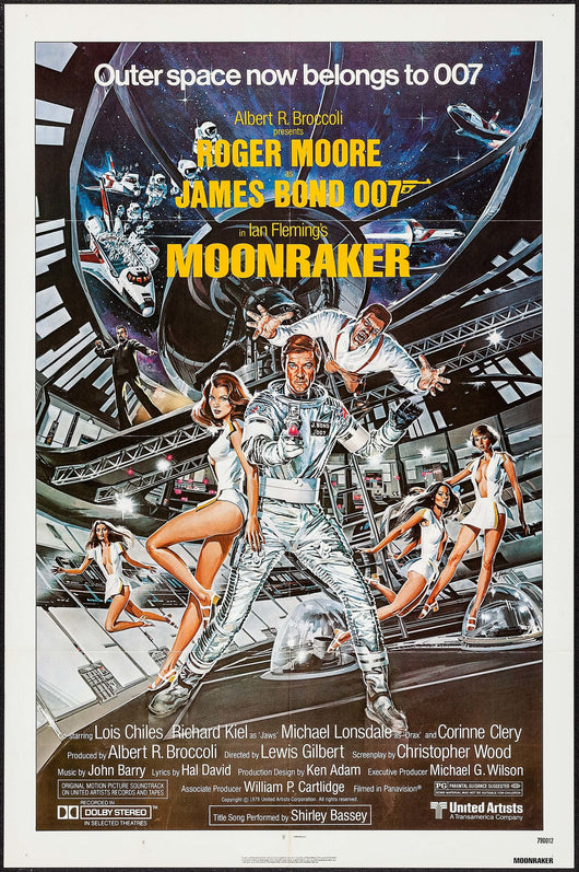 Moonraker Original Movie Poster