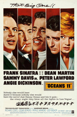 Ocean's 11 Original Movie Poster
