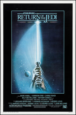 Return of the Jedi Original Movie Poster- Style A