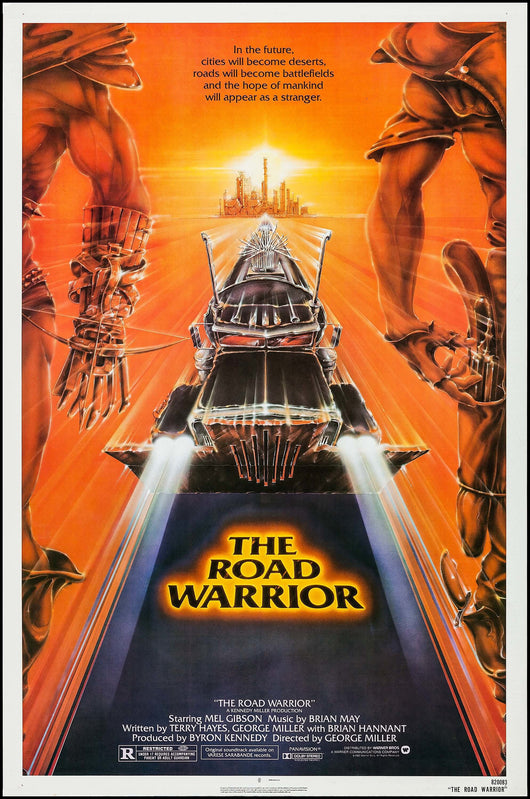 The Road Warrior Original Movie Poster