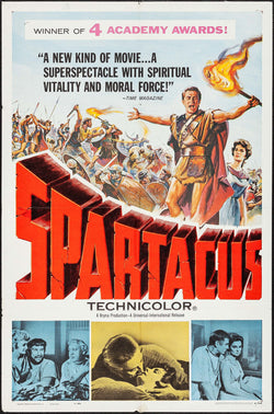Spartacus (1961) Original Movie Poster