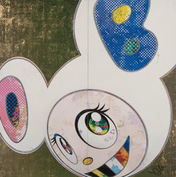 Takashi Murakami-Lithograph, DOB in Pure White Robe