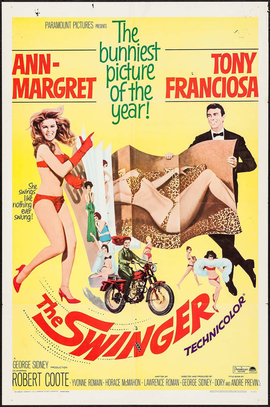 The Swinger (1966) Original Movie Poster