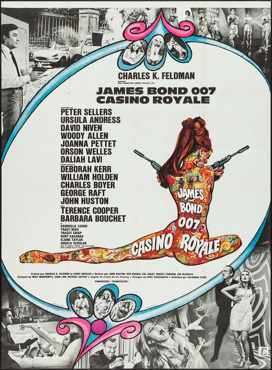 Casino Royale 1967 Original Movie Poster