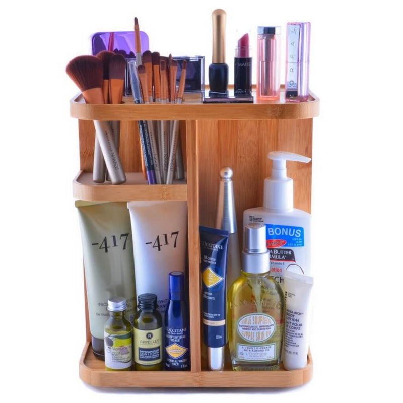 Refine 360 Bamboo Cosmetic Organizer Buy Now Cocomixer