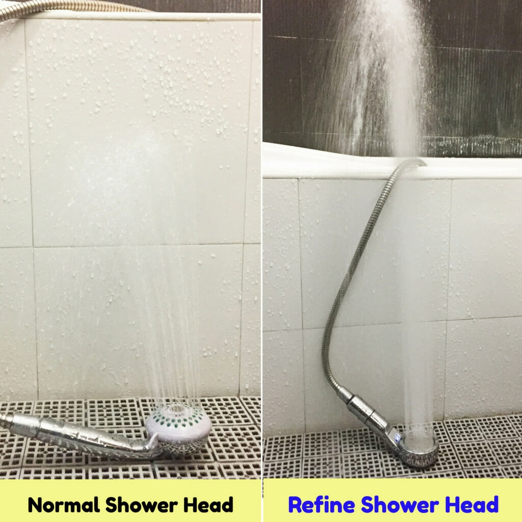 Refine Digital Temperature Display Shower Head with Chlorine ...