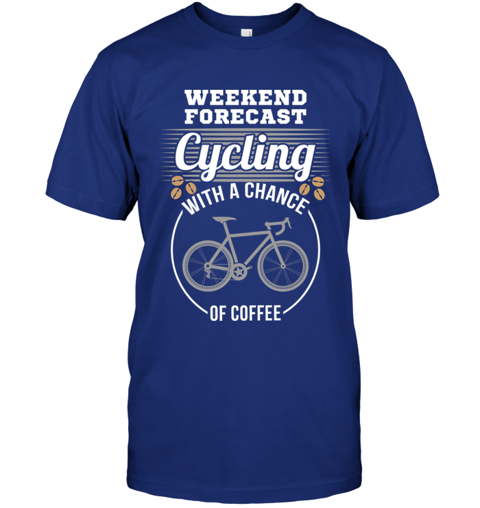 Weekend Forecast Cycling with a chance of Coffee
