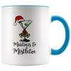 11oz Mug (White Accent) - Martinis & Mistletoe