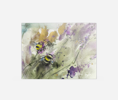 Bees Cutting Board