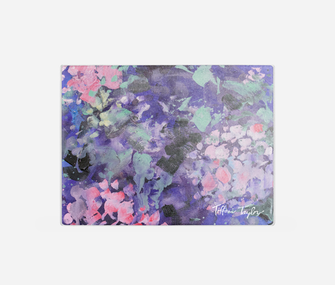 Expressionistic Hydrangeas Cutting Board