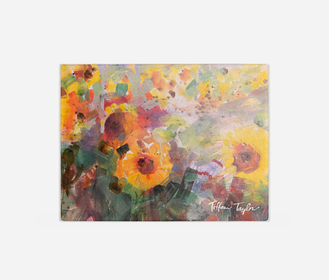 Sunflowers Joy Cutting Board