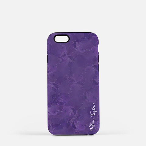 Bees Purple Phone Case