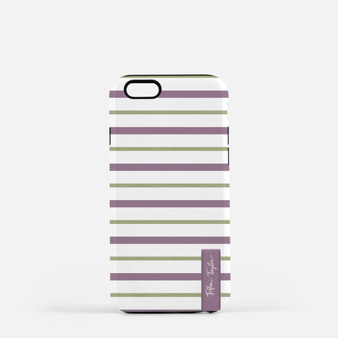 Bees Stripes Phone Case