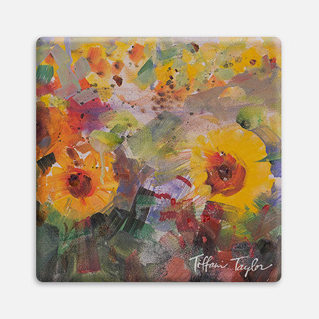 Sunflowers Joy Coaster