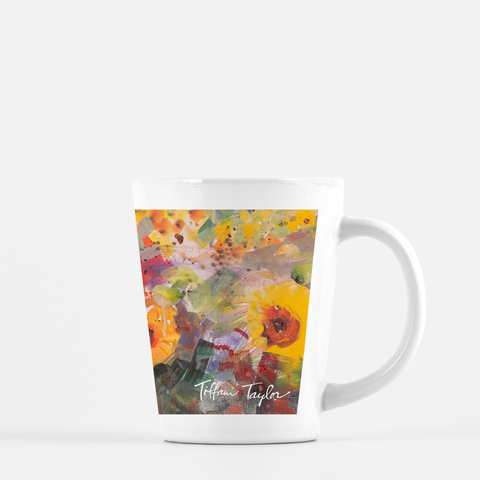 Sunflowers Joy Latte Mug