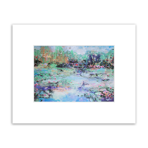 Giverny Matted Print
