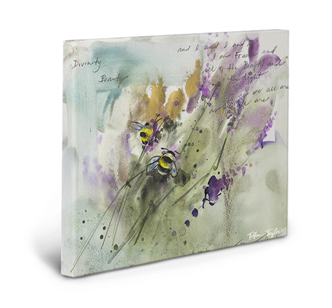 Bees Gallery Wrapped Canvas