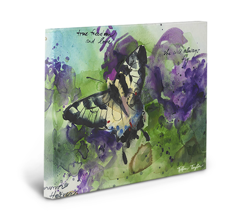 True Freedom and Love Gallery Wrapped Canvas