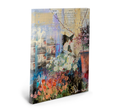 Beauty and Light Gallery Wrapped Canvas
