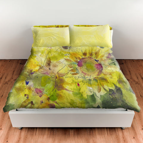 Sunflower Collection Bedding Duvet
