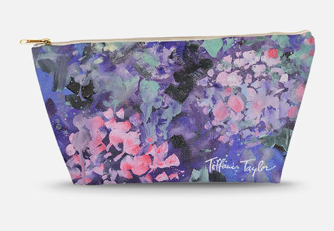 Expressionistic Hydrangeas Accessory Bag