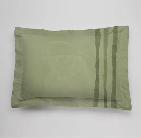 Bees Collection Bedding Sham - Green