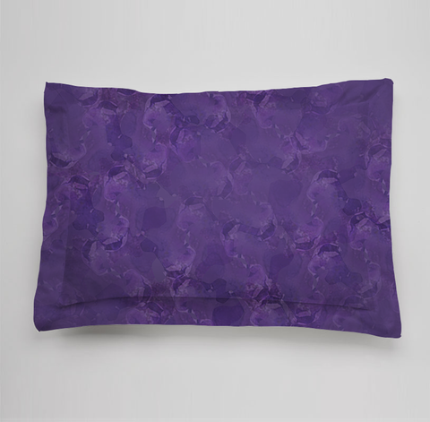 Bees Collection Bedding Sham - Purple
