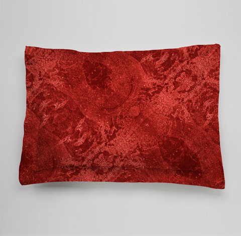 Red Poppies Collection Bedding Sham - Red