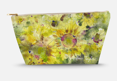 Sunflowers Divinity Love Accessory Bag
