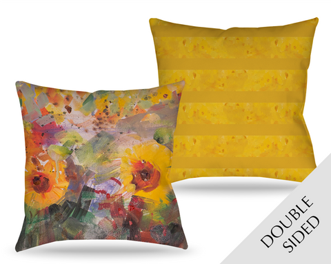 Sunflowers Joy Pillow