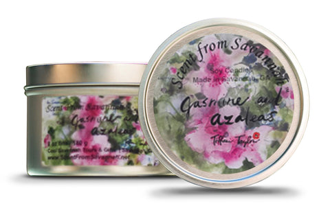 Jasmine and Azaleas Candle