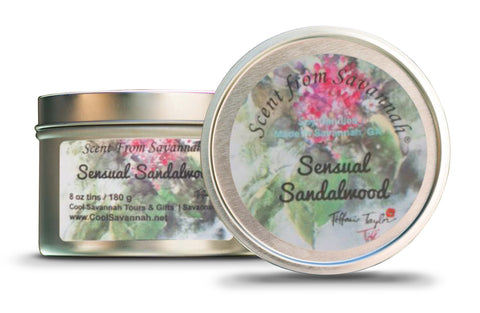 Sensual Sandalwood Candle