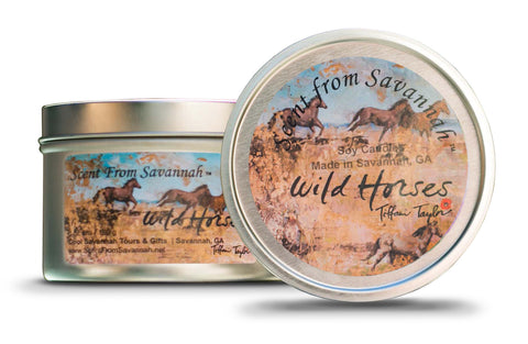 Wild Horses Candle