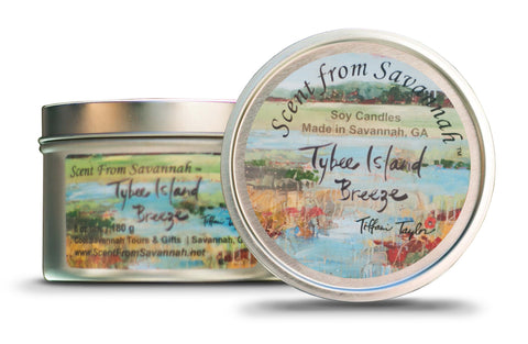 Tybee Island Breeze Candle