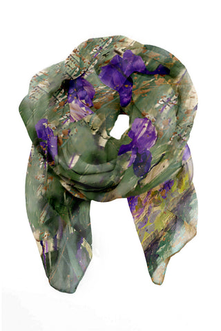 Wisdom of the Iris Scarf