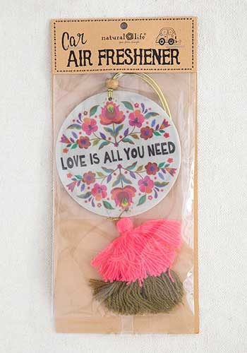 Love Is All You Need Air Freshener