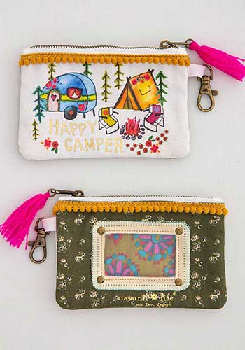 Happy Camper ID Pouch