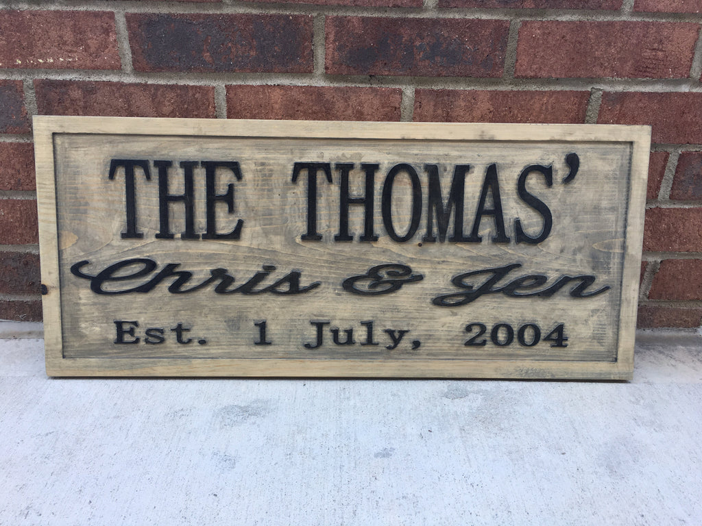 Personalized Woodend Signs