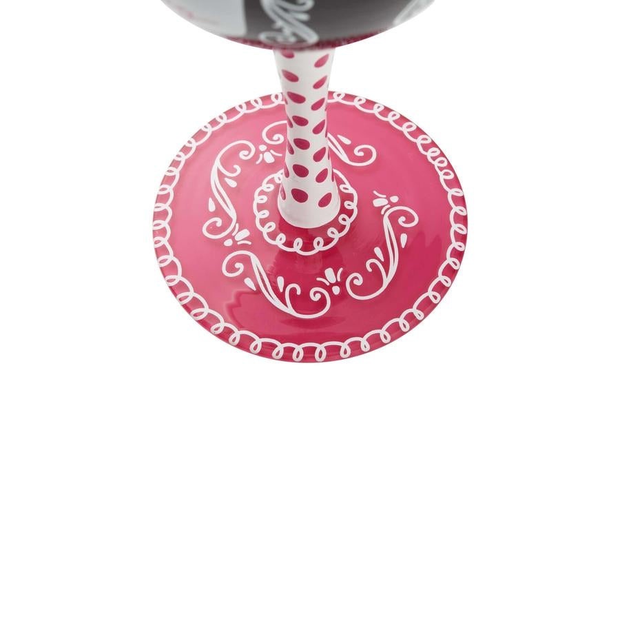 Bachelorette Wine Glass