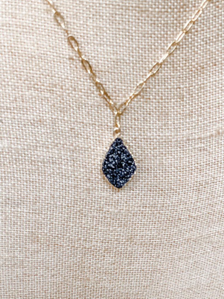 Stoney River necklace-black