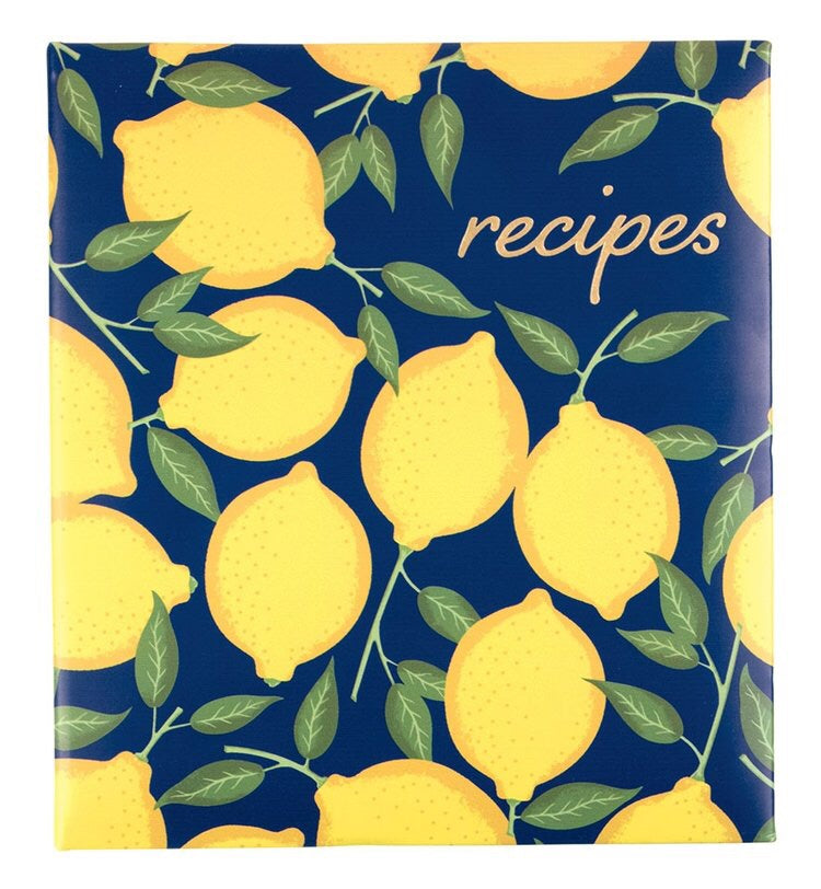 Recipe Book - Lemon