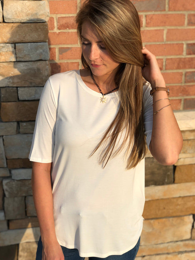 Bare Essentials Top - Ivory