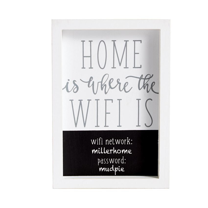Home is where is WIFI is
