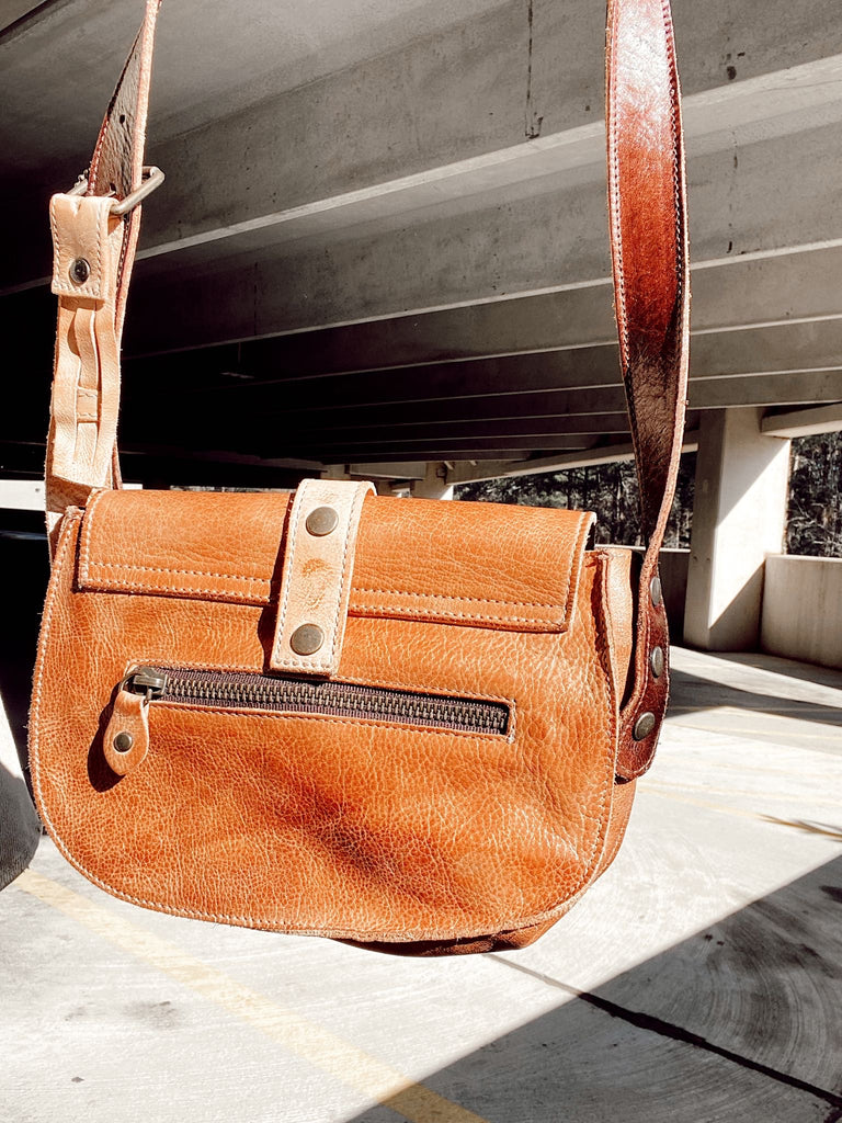 Leather Frenzy Crossbody