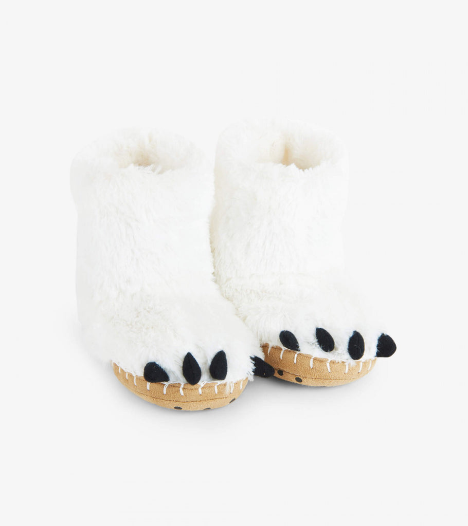 Kids Slippers - Polar Bear Paws